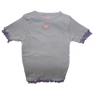 Girls Designer Ruffle Tee Shirts