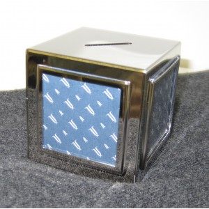 Silver Bank and Photo Frame