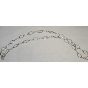 Swarovksi Long Silver Necklace