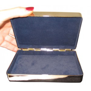 Silver Rectangle Box