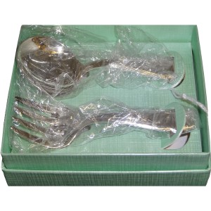 Baby Sterling Silver Spoon and Fork Set